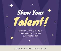 Purple Starry Spotlight Talent Show Facebook Post Templates By Canva