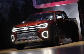 Volkswagen unveils concept pickup truck at New York auto show - Reuters