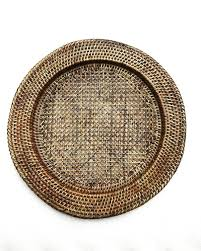 vintage rattan tray extra large rustic decor bamboo wicker serving tray vintage rustic round farmhouse decor wall hanging boho plates