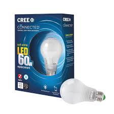 Walmart Alexa Light Bulbs Connected 60w Soft White 2700k Dimmable Led Light Bulb Single Pack Works With Walmart Alexa Works With Walmart Alexa To Support Dimming Through