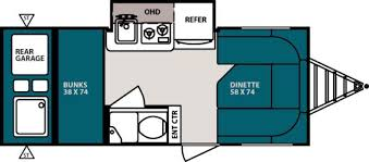 brands pan pacific rv 2014 forest river r pod rp 182g floorplan