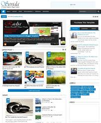 responsive blogger templates 30 best cool simple blogger blogspot themes templates