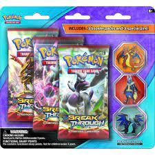 Pokemon Mega Evolution Pin 3 Pack Trading Card Game | Trading cards game, Pokemon  trading card game, Card games