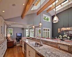 vaulted kitchen ceiling lighting. Exellent Ceiling Catchy Lighting For Vaulted Kitchen Ceiling And 29 Best  Ideas Images On Home R