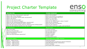 project charter sample project team charter template example