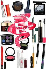 huge makeup haul october 2016