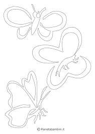 Farfalle Di Carta Per Decorare Pareti E Oggetti Creare Con La Carta