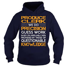 awesome tee for produce clerk