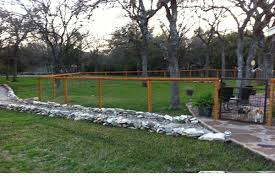 wood and wire fences. Wood Frame With Wire Mesh Fencing And Fences