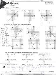 worksheet graphing linear equations worksheets answers slope of a