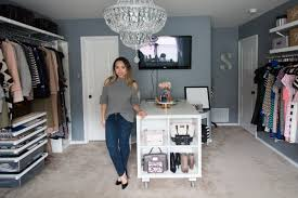 elfa closet system for stephienese dallas style life blog dressing room update remodel architecture