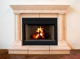 image of fireplace mantel and surround