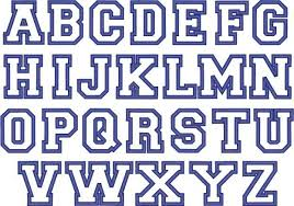 block letter fonts gplusnick with regard to block letters font