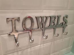 large towel holder rack bath hanger