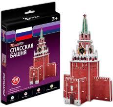 Купить <b>Cubic Fun Спасская башня</b> (Россия) мини серия в Москве ...