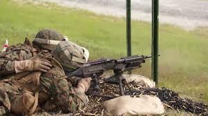 Marine Gunners Talking Guns Marine Machine Gunners Shooting 240bs Youtube