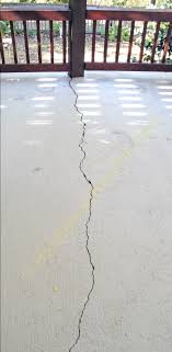 Build A Concrete Patio Fixing A Cracked Concrete Patio Slab Diy Concrete Diy