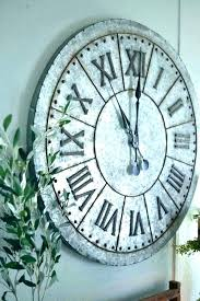 extra large clock outdoor clocks wooden wall uk pier one very