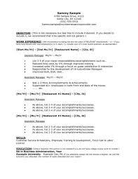 Generic Resume Resumes Nursing Objective Statement Examples Cv