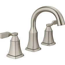 bronze bathroom fixtures. Delta Sawyer 2-Handle Widespread Bathroom Faucet (Drain Included) Bronze Fixtures E