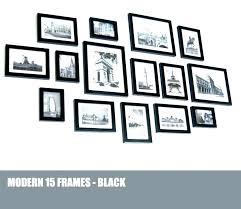 black and white photo collage wall frame ideas frames wood wooden picture uk full size