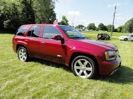 Red Jewel 2008 Chevrolet TrailBlazer SS 4x4 Exterior Photo ...