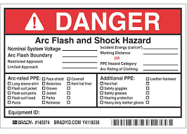 Arc Flash Clothing Rating Chart Electrical Safety Standards In The Workplace Nfpa 70e