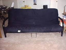 black futon frame bought new in big lots instructions mainstays metal assembly