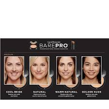 Bareminerals Original Foundation Colour Chart Bareminerals Barepro Performance Wear Powder Foundation 10g Brush Qvc Uk