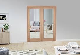 p10 oak internal french doors climadoor