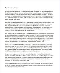 expository essay examples samples expository essay sample