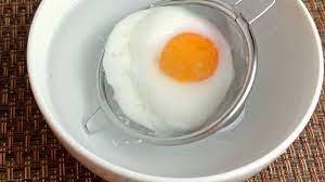 半熟 卵 レンジ