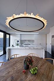 unusual lighting fixtures. a raw crystal light ring chandelier the new old by jessica liew unusual lighting fixtures e