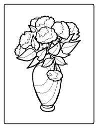 Coloring Pages Flower Flowers Coloring Pages 2 Coloring Pages