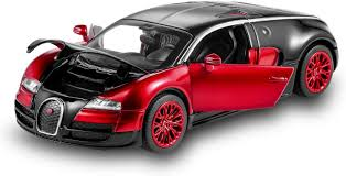 2018 bugatti chiron specs, price, photos & review from what i can tell from the images, there will be plenty of exposed carbon fiber chirons roaming the streets, and i'm okay with that. Amazon Com Bugatti Veyron Toy Car 1 32 Alloy Diecast Metal Model Cars For 3 To 12 Years Old Boys Red Toys Games