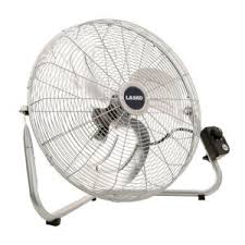 20 in high velocity floor fan sfc1 500b the home depot high velocity floor or wallmount fan in chrome