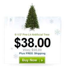 Holiday Living 6.5 Spruce Artificial Christmas Tree .