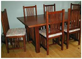 mission style dining room chairs mission style dining room chairs
