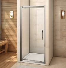 760x760mm pivot hinge shower door enclosure and tray walk in 6mm glass screen