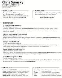 Video Game Executive Producer Resume Fun Word Play Essay