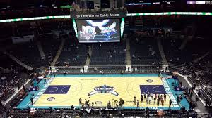 Charlotte Hornets Interactive Seating Chart Spectrum Center Section 208 Charlotte Hornets