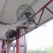 china ce rohs saso high pressure wall mounted mist fan