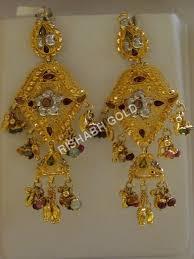 previous jhumka chandelier earrings