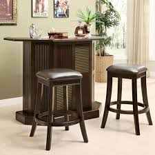 breakfast bars furniture. Kitchen Island Dark Brown Modern Varnished Wood Furniture Style Unique Breakfast Bars O
