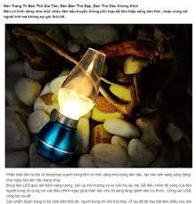 ⭐Đèn Trang Trí Bàn Thờ Gia Tiên Đèn Bàn Thờ Đẹp Đèn Thờ Dầu Không Khói - Đèn  Dầu Cảm Ứng Điện Tử LED Thổi Bật/Tắt Sử Dụng Pin Sạc (Giao màu