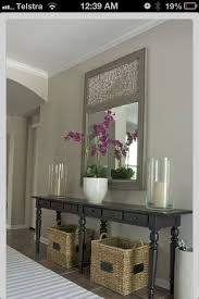 how to decorate a console table. Console Table Decor. Decor Exellent Could Fit A Lot Of How To Decorate E