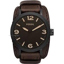 """men s fossil clyde cuff watch jr1365 watch shop comâ""""¢ mens fossil clyde cuff watch jr1365"""