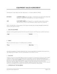 Sample Sales Agreement Template Template For Car Sale