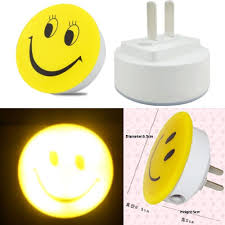 Mini Smiley Lachend Fase Led Photoreceptor Lichtsensor