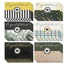 36 Pack Graduation Cards Money Cards 6 Designs Money Gift Card Holder Ideal For High School College And More Graduation Party Favors Envelopes